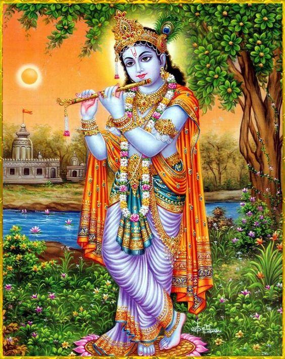 God Shree Krishna Ji Ki Image Photo Krishan Ji Wallpaper