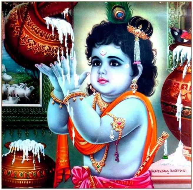 Shree Krishna Baby Images